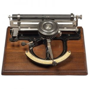 Peoples typewriter