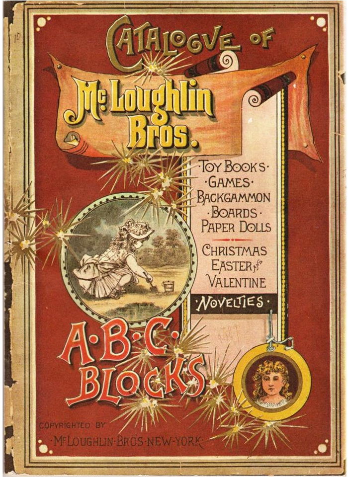 Cover of the McLoughlin Brother's general catalogue circa 1890.