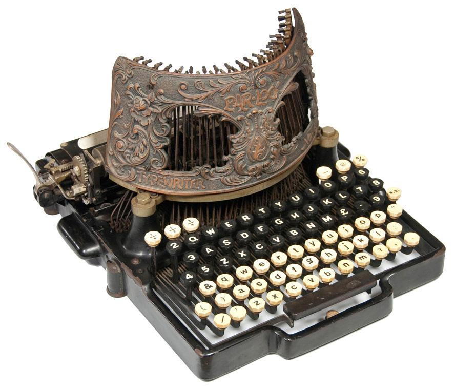 Bar-Lock 6 typewriter