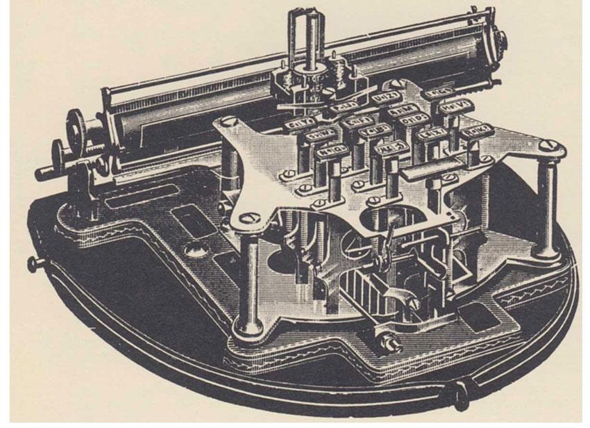 Gardner typewriter