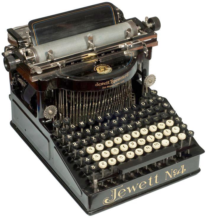 Jewett 4 typewriter