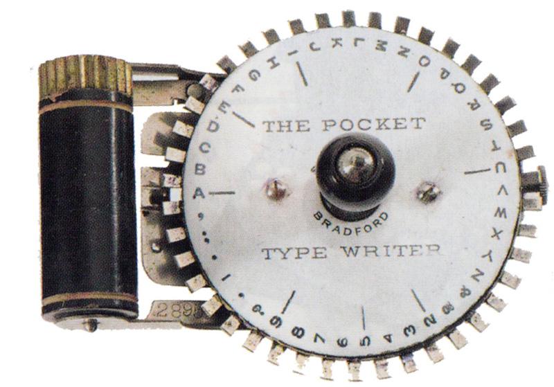 Pocket typewriter