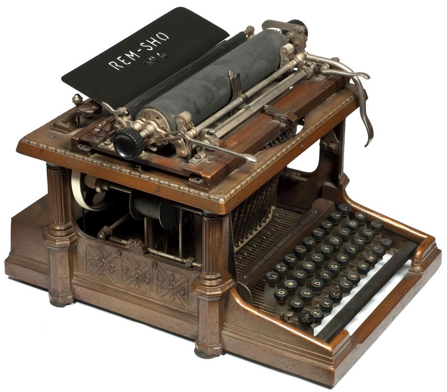 Rem-Sho 4 typewriter