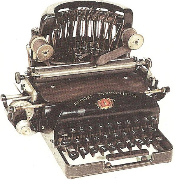 Brooks typewriter