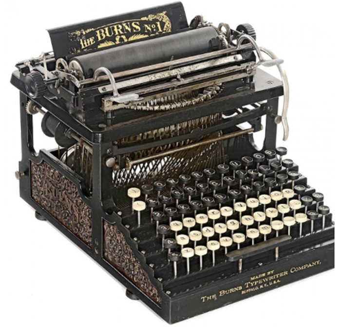 Burns Typewriter