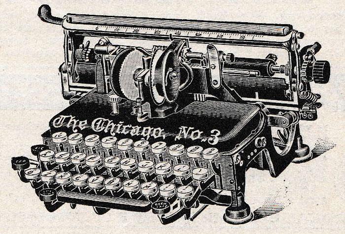 Chicago 3 Typewriter