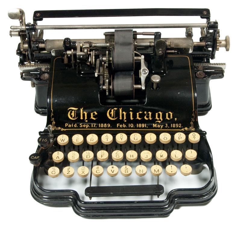 Chicago 1 typewriter