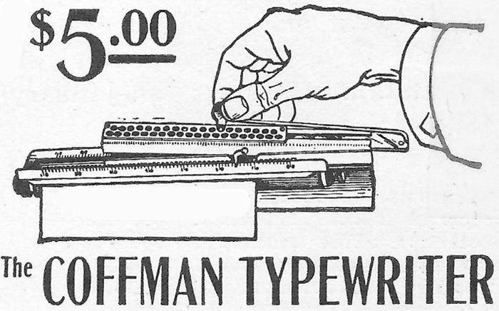 Coffman Typewriter