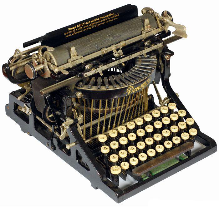Densmore 1 typewriter