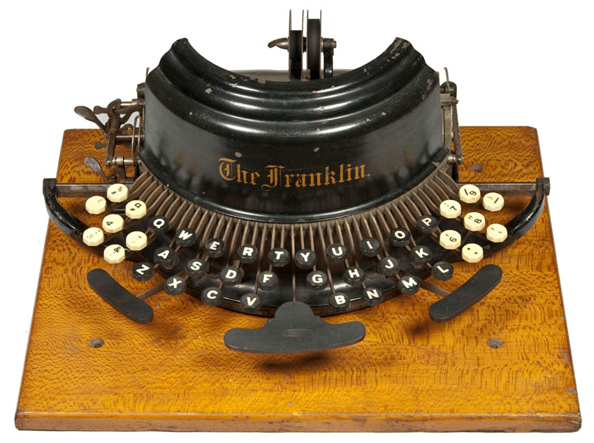 Franklin 1 typewriter