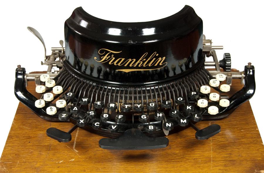 Franklin 10 typewriter