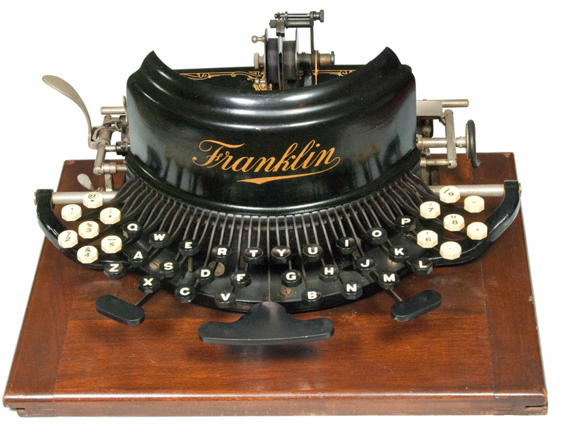 Franklin 7 typewriter
