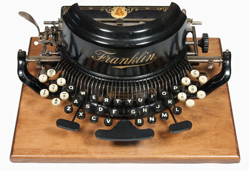 Franklin 9 typewriter