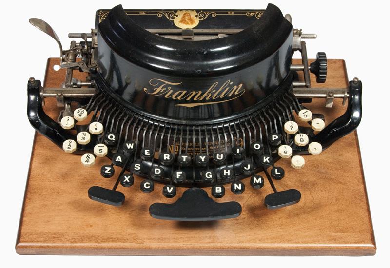 Franklin 9 typewriter