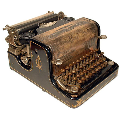 Photograph of the Granville Automatic typewriter.