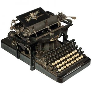 Photograph of the Hartford 2 typewriter.
