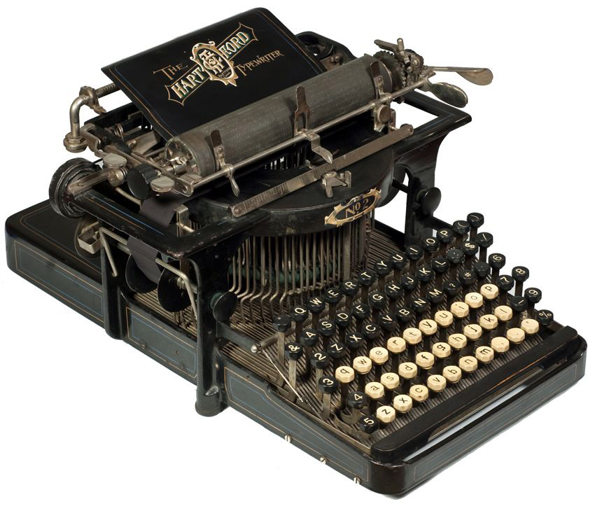 Hartford 2 typewriter