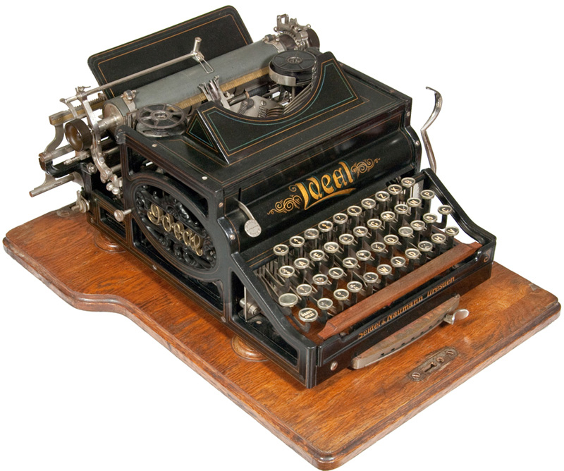 Ideal typewriter
