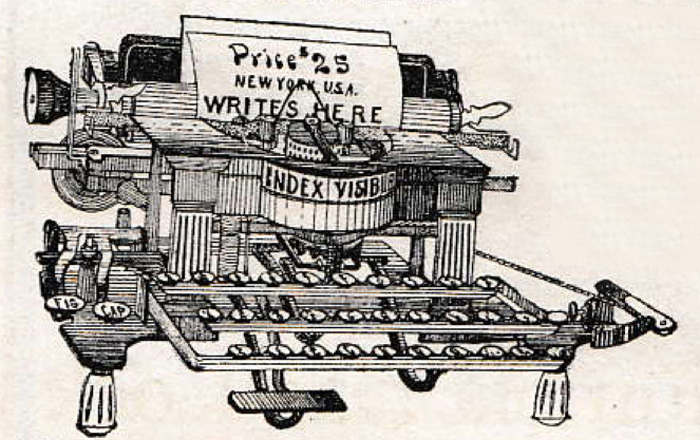 Index Visible Typewriter