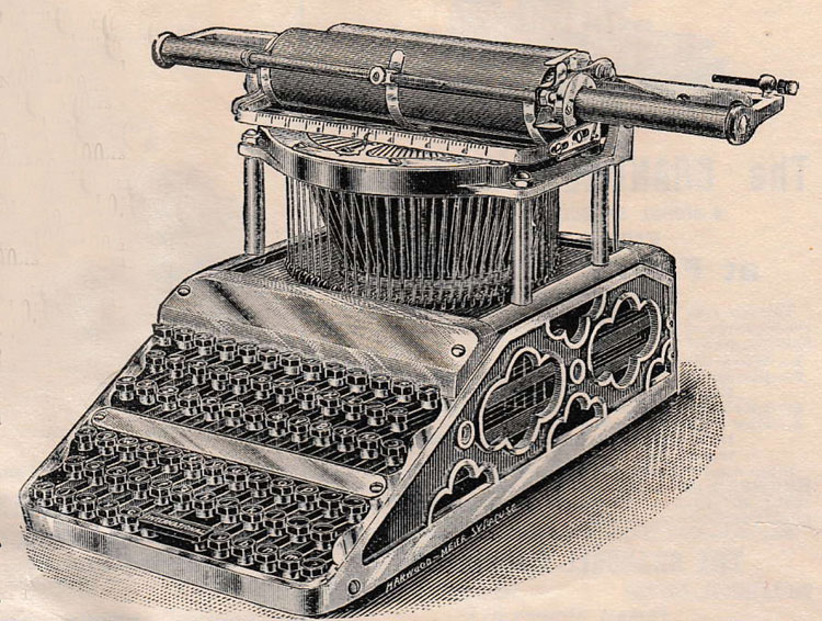 International typewriter