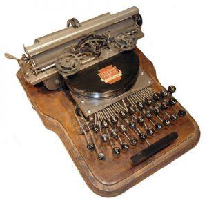 Keystone 2 typewriter