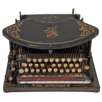 Photograph of the Maskelyne Typewriter.