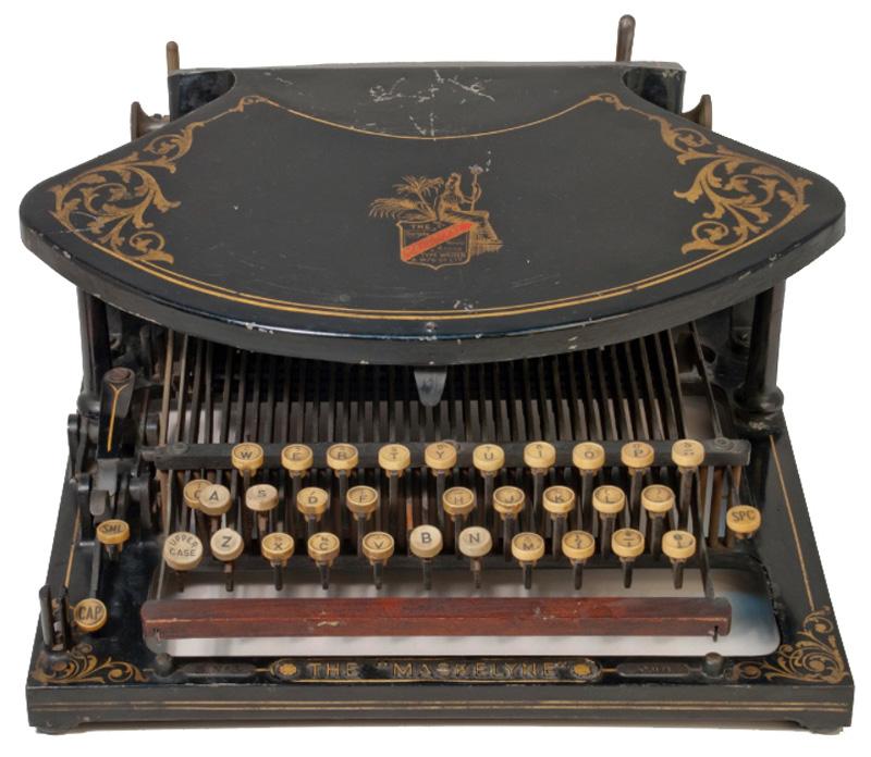 Maskelyne Typewriter