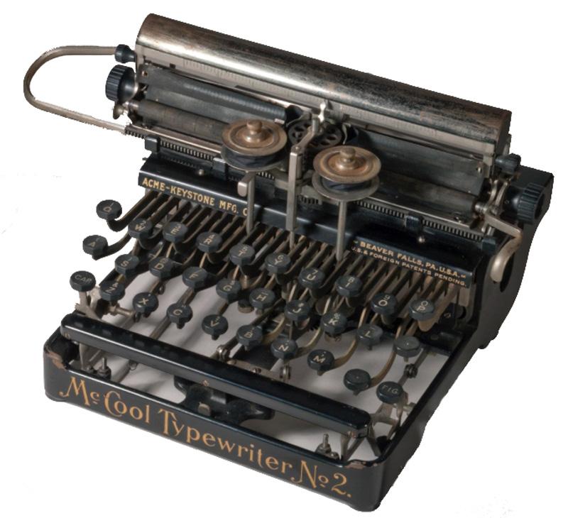 McCool Typewriter