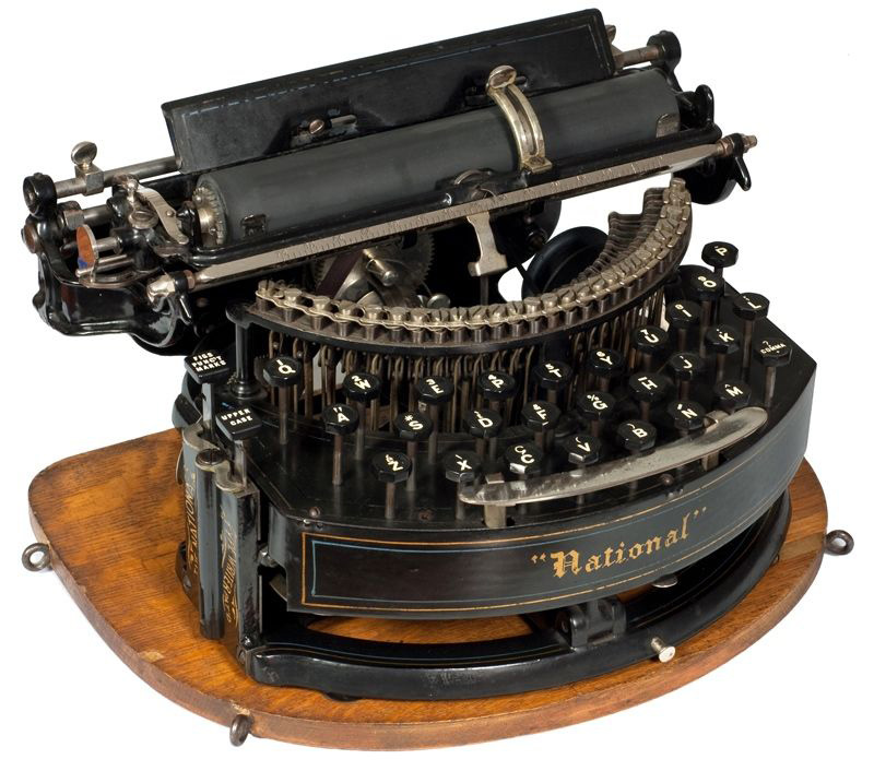 National 2 typewriter