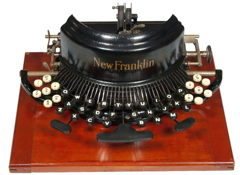 Franklin - New Model typewriter
