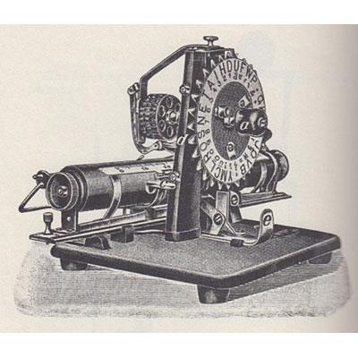 Photograph of the Niagara Typewriter.