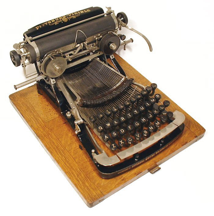 Pittsburg Visible typewriter