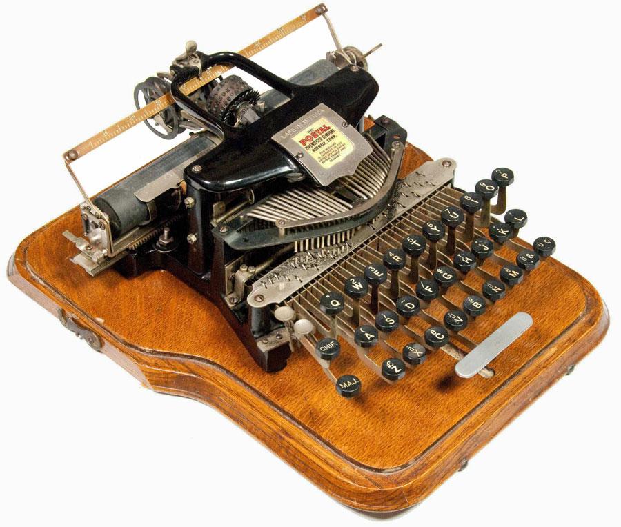Postal 5 typewriter