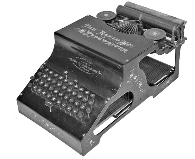 Rapid typewriter