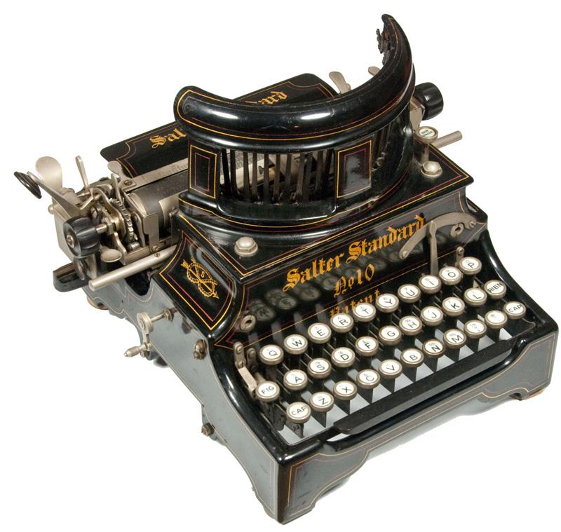 Salter 10 typewriter
