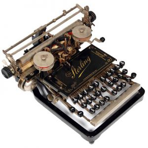 Sterling typewriter 1