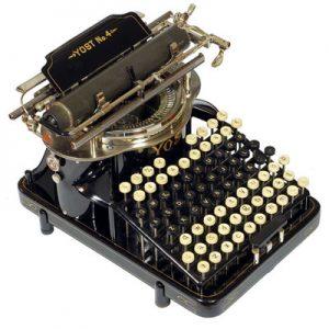 Yost 4 typewriter