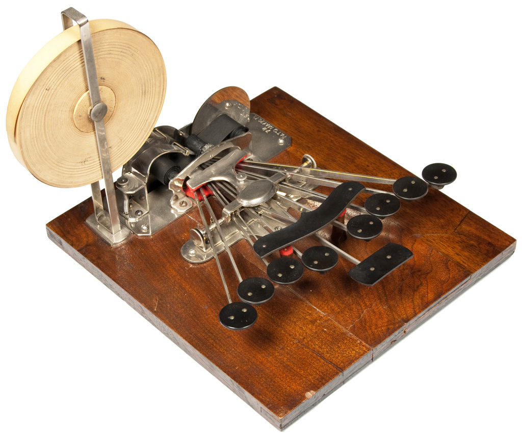Photograph of the Stenograph 1 1st form.