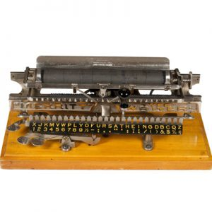Merritt typewriter from 1890.