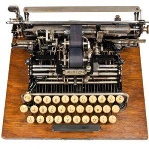 Munson 1 typewriter